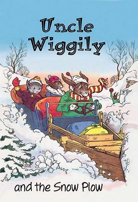 Uncle Wiggily and the Snow Plow by Georges Carlson - Art Print