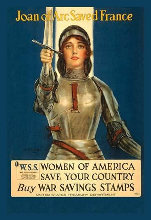 Women of America Save Your Country by Coffin - Art Print