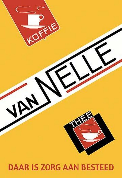 Van Nelle Coffee and Tea - Art Print