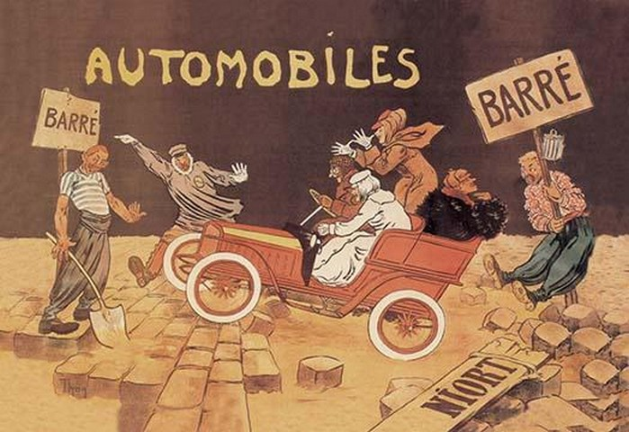Barre Automobiles - Art Print