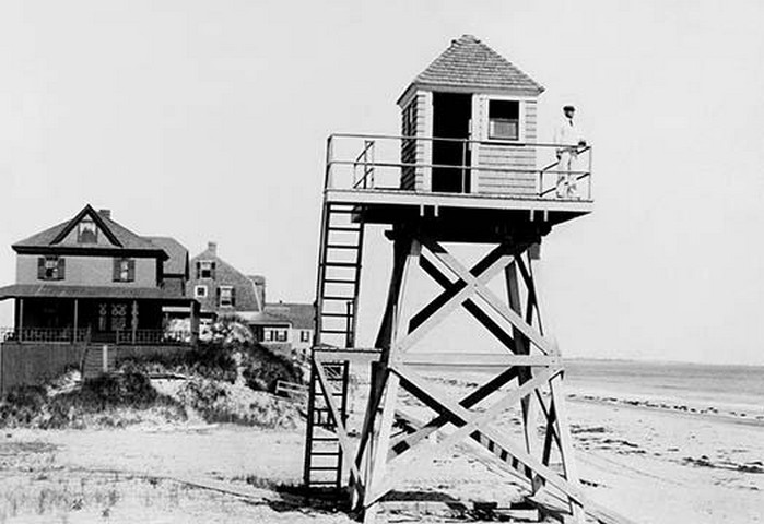 Watch Station Salisbury Beach, Massachusetts - Art Print