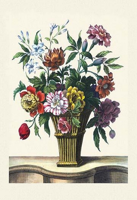 Vase on Table - Art Print