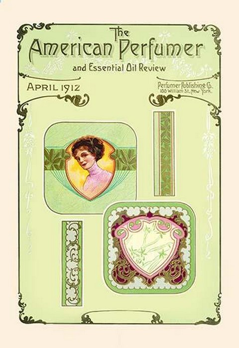 American Perfumer and Essential Oil Review, April 1912 - Art Print