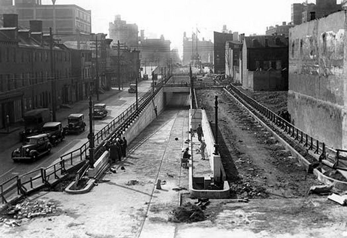 Street Construction Philadelphia Pa By Free Library Of Phi