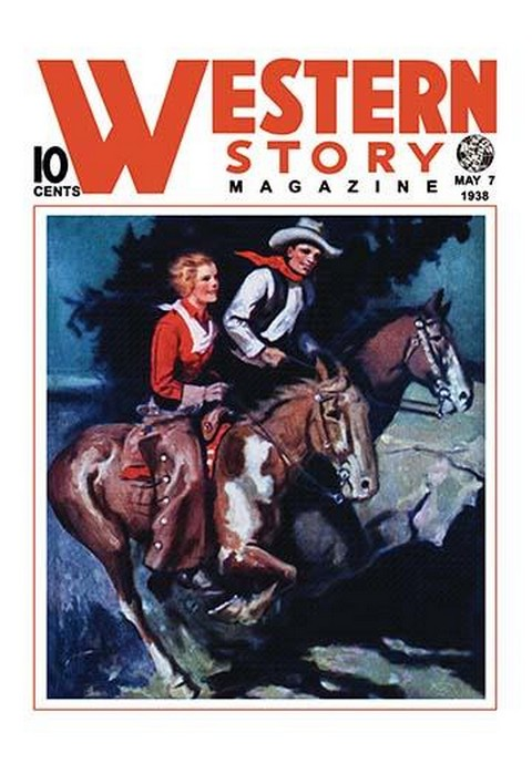 Western Story Magazine: On the Range - Art Print