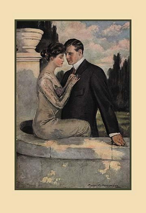 Twilight by Clarence F. Underwood - Art Print