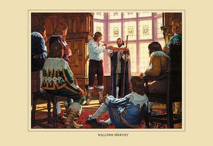 William Harvey by Robert Thom - Art Print