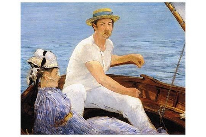 Boating by Edouard Manet - Art Print