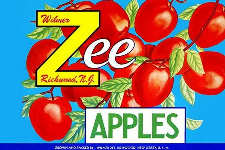 Zee Apples - Art Print