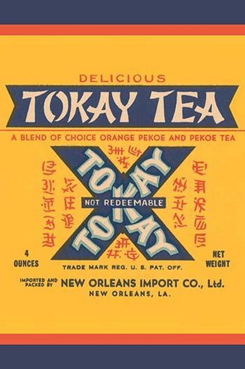 Tokay Tea - Art Print