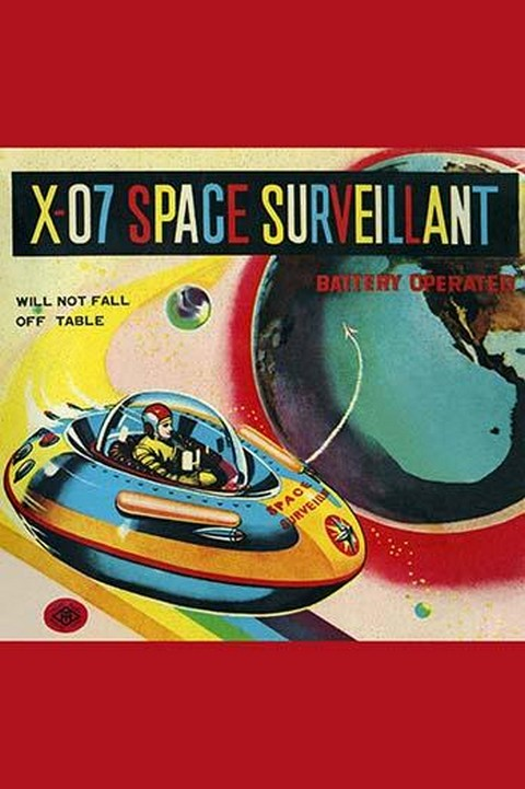 X-07 Space Surveillant - Art Print