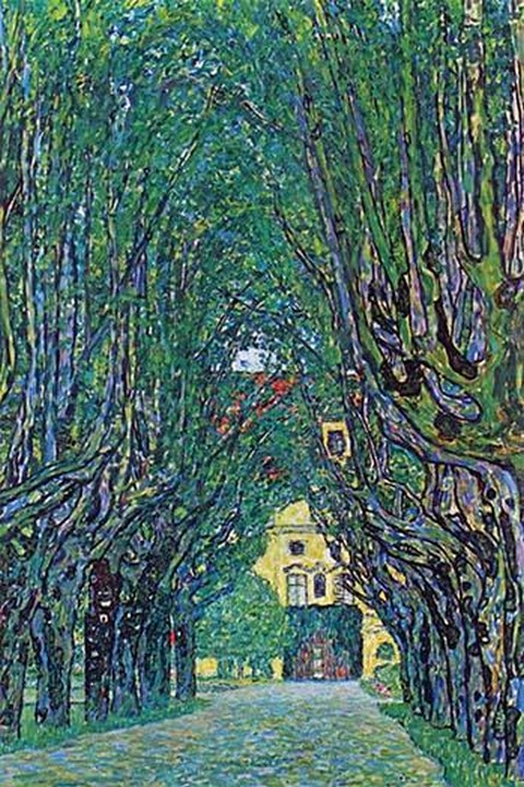 Way to the Park by Gustav Klimt - Art Print