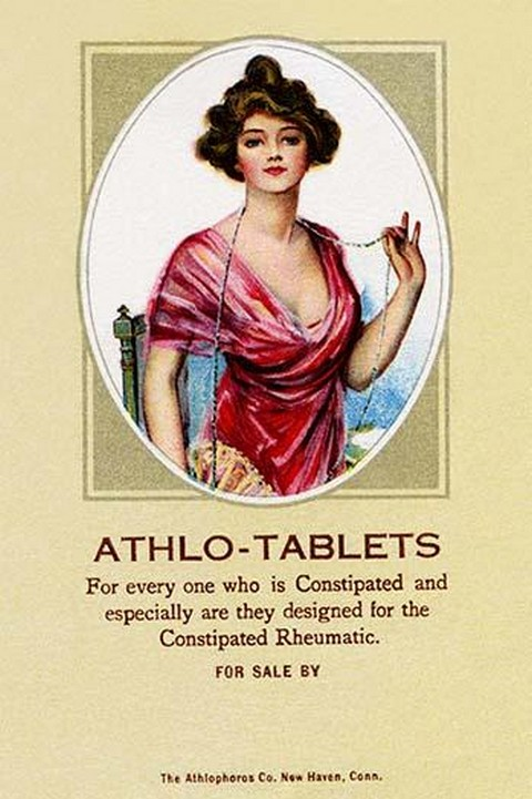 Athlo - Ointment for Croup, Cold or Sore Throat #4 - Art Print