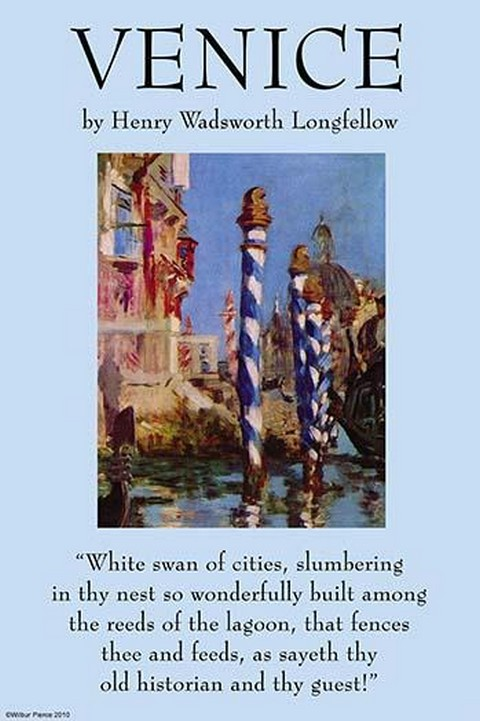 Venice by Henry Wadsworth Longfellow - Art Print