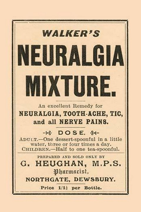 Walker's Neuralgia Mixture - Art Print