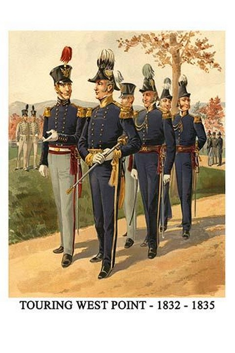 Touring West Point - 1832 - 1835 By Henry Alexander Ogden - Art Print