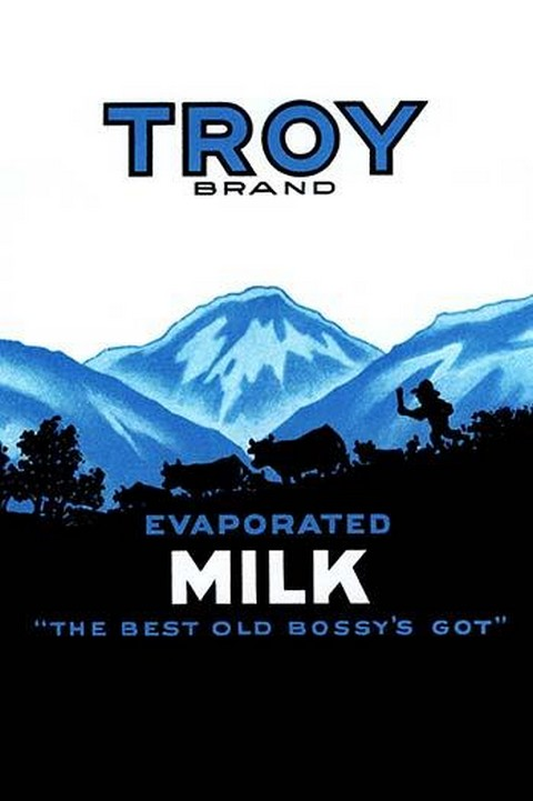 Troy Brand Evaporated Milk #2 - Art Print