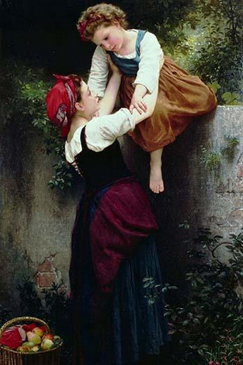 Young Gypsies by William Bouguereau - Art Print