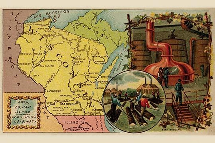 Wisconsin by Arbuckle Brothers - Art Print