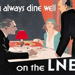 You Always Dine Well on the Lner - Art Print