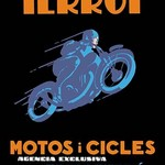 Terrot Motorcycles and Bicycles - Art Print