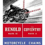 Reynold Mark 10 Motorcycle Chains - Art Print