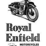 Royal Enfield Motorcycles: Leading the Victory Parade - Art Print