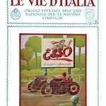 Esso - The Road of Italy - Art Print