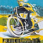 4th Motorcycle Circuit of Tortona by A.G. - Art Print