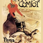 Motorcycles Comiot by Theophile Alexandre Steinlen - Art Print