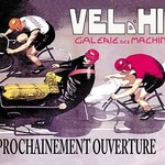 Vel d'Hiv Gallery of Machines: Opening Soon by Cancaret - Art Print