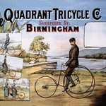 The Quadrant Tricycle Company - Art Print