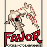 Favor Cycles and Motos de Grand Luxe by Anonymous - Art Print
