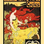American Crescent Cycles by Fred Winthrop Ramsdell - Art Print