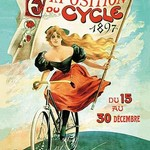 1897 Bicycle Exhibition - Art Print