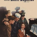 Etude - Soldiers at the USO Sing-a-Long - Art Print
