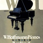 W. Hoffman Pianos - Berlin - Art Print