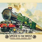 Speed to the West - Art Print