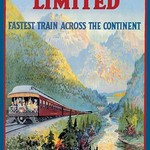 Trans-Canada Limited - Fastest Train Across the Continent - Art Print