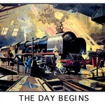 The Day Begins - L.M.S. - Art Print