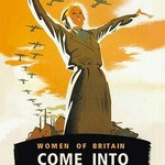 Women of Britain, Come into the Factories by Brydone - Art Print