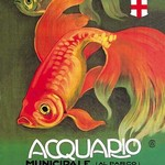 Acquario by Leopoldo Metlicovitz - Art Print