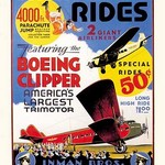 Airplane Rides: Inman Bros. Flying Circus by Anonymous - Art Print