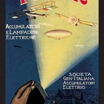 Flying Machines in the Spotlight - Art Print