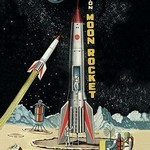 Friction Moon Rocket - Art Print