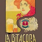 La Bitacora Ale and Stout by Barral Nualart - Art Print