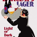Barclay's Lager: Light or Dark by Tom Purvis - Art Print