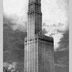 Woolworth Building by Moses King - Art Print