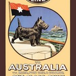 Aberdeen and Commonwealth Cruise Line to Australia - Art Print
