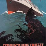 Trieste Cruise Line to North and South America by A. Dondov - Art Print